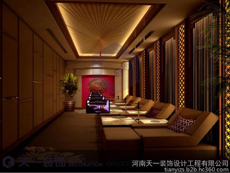 郑州专业的足疗店装修设计