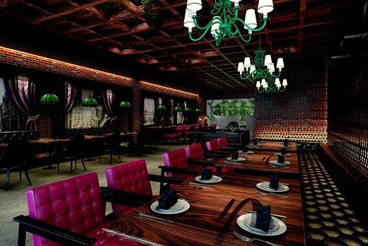 上海主题饭店装修-专业餐厅设计公司
