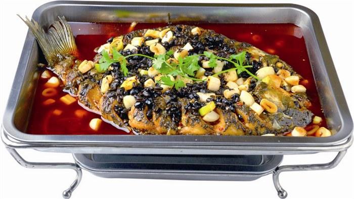 木炭烤鱼的制作