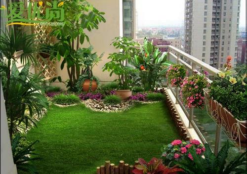 上海做了很好家庭园艺阳台设计阳台绿化公司