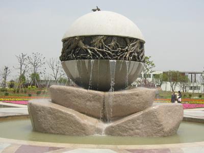江苏园林雕塑设计-宿迁不锈钢雕塑翻新图片