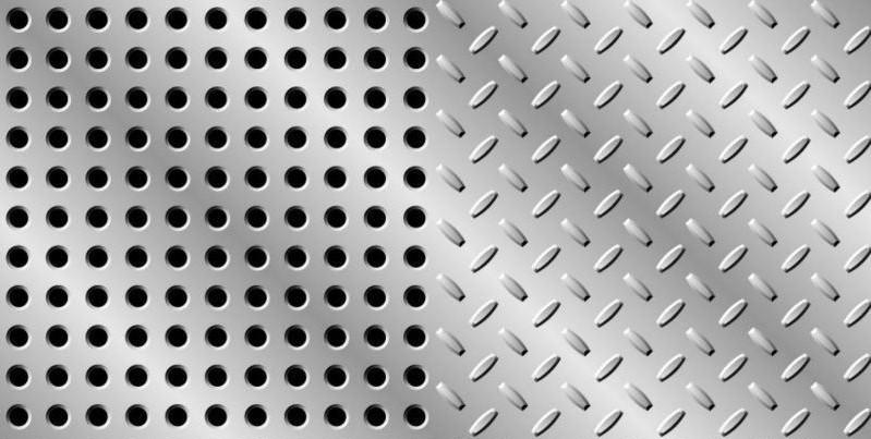 不锈钢板,铝板,铝合金板等金属板  制作作工艺两种形式: 1)热压花纹