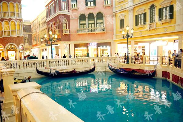 售威尼斯玻璃钢手划船 欧式风情贡多拉