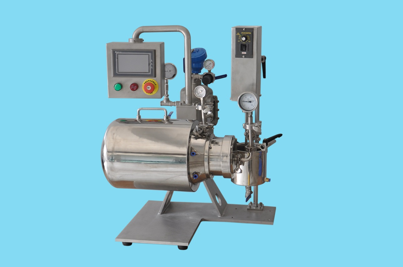 纳米陶瓷砂磨机_byzr-1型实验室纳米陶瓷砂磨机