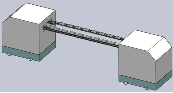 跨立式三次元机械手