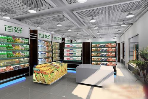 太原超市装修公司,专业太原超市装修设计