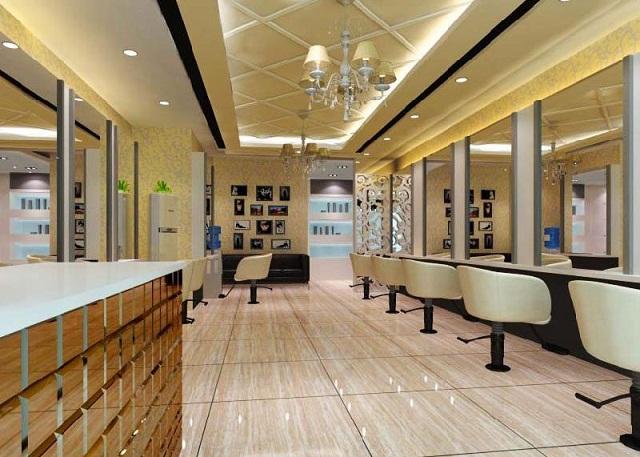 太原理发店装修公司,太原发廊装修设计服务,美发店装修公司