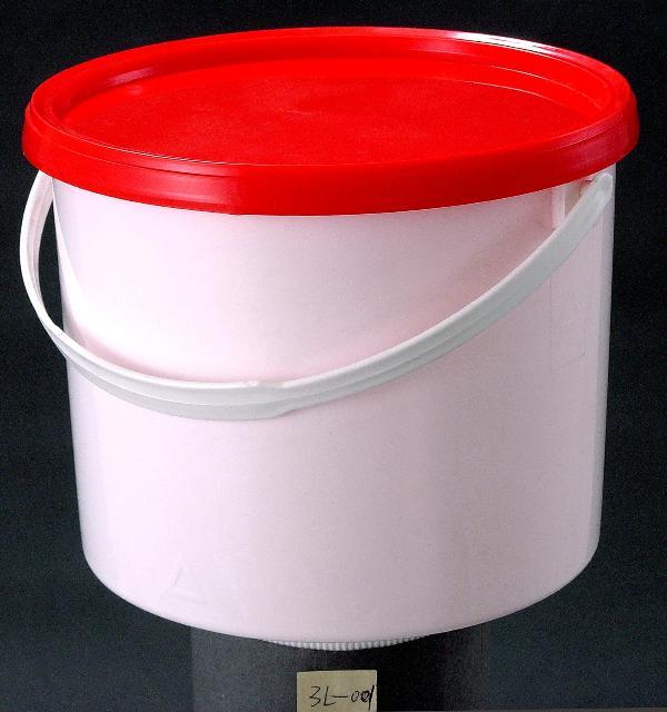 3升塑料桶3l密封桶4升美式桶