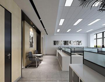 成都开放式办公室装修,四川办公室装修效果图