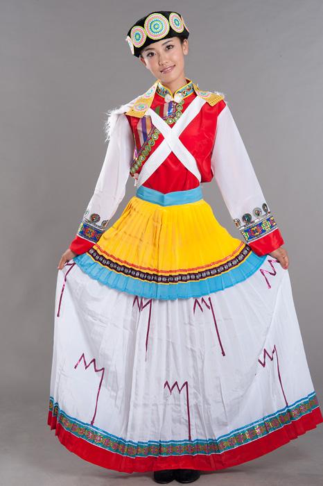 纳西族服饰 纳西族服装 少数民族服饰 少数民族服装