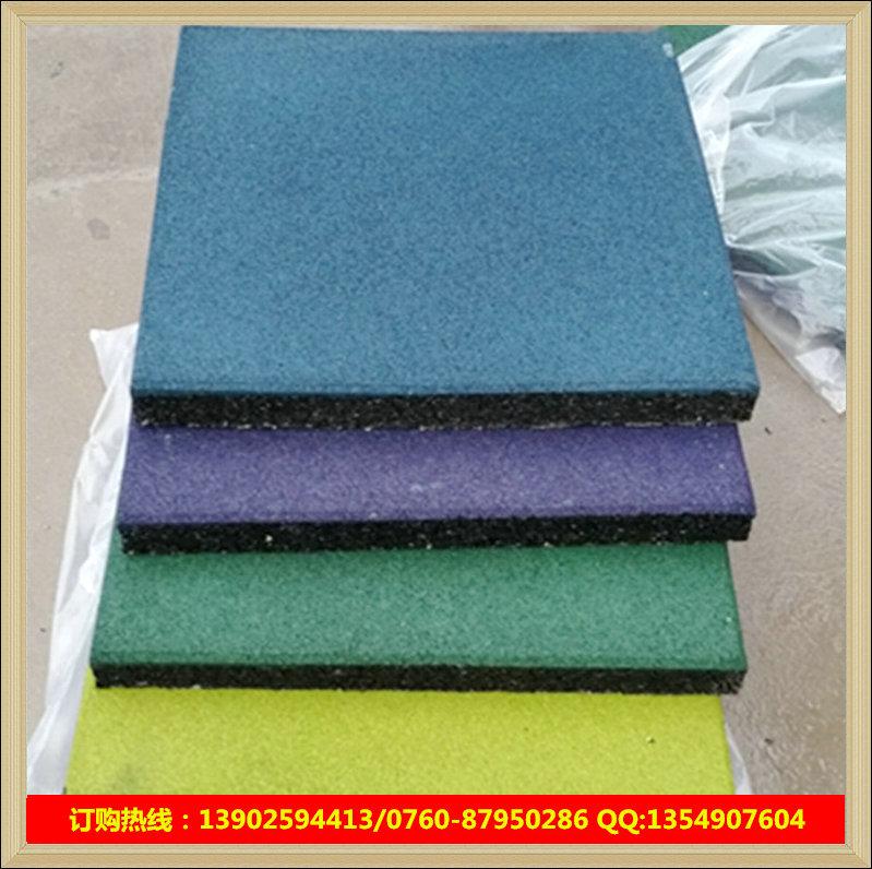 深圳橡胶安全地垫厂家 epdm地垫现场施工 弹性橡胶地垫促销