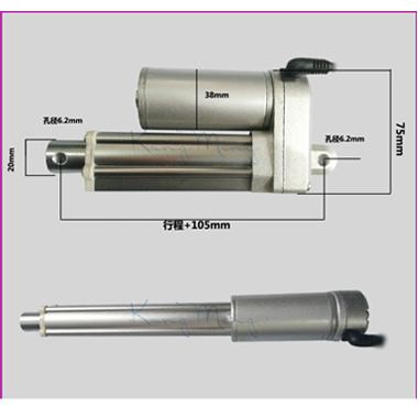 供应电动推杆微型,直线直流电动升降