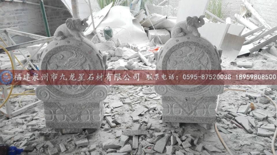 半圆门洞石雕花边素材