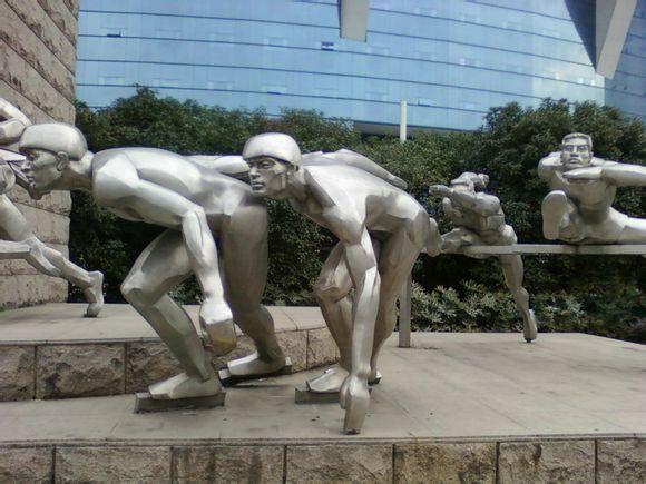 供应低价景德镇不锈钢雕塑