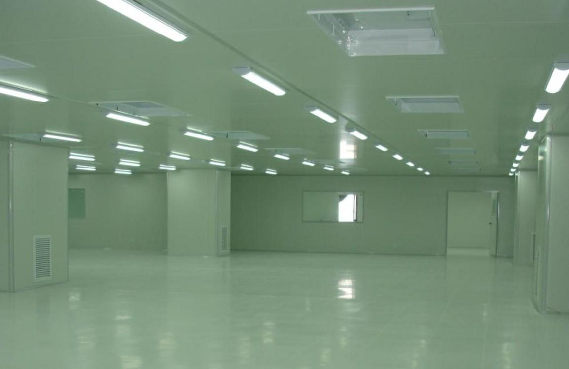 家庄水厂乳品厂灌装车间 净化工程 设计施工