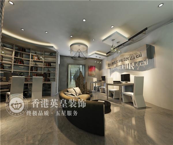 郑州英皇装饰婚礼策划公司办公室装修设计效果图