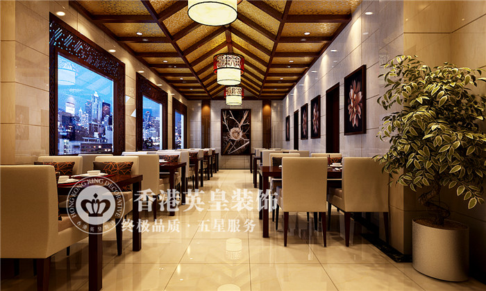 家常菜飯店裝修設計效果圖