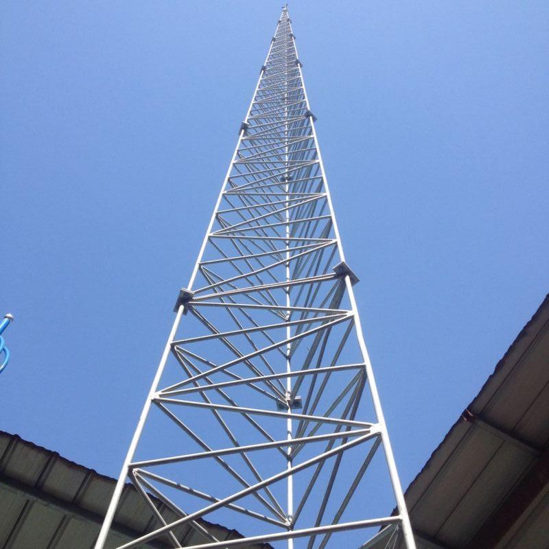 河南避雷塔安装,25米/30米/35米/40米角钢避雷塔施工