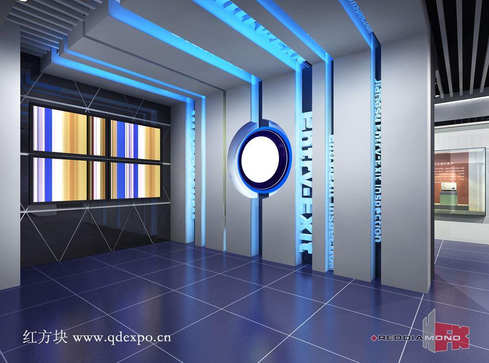 科技企业文化展示厅|科技展厅创意设计方案_高图片