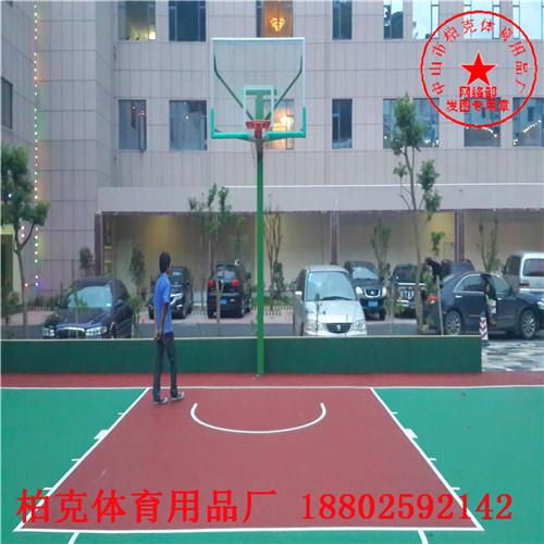 学校操场地面施工