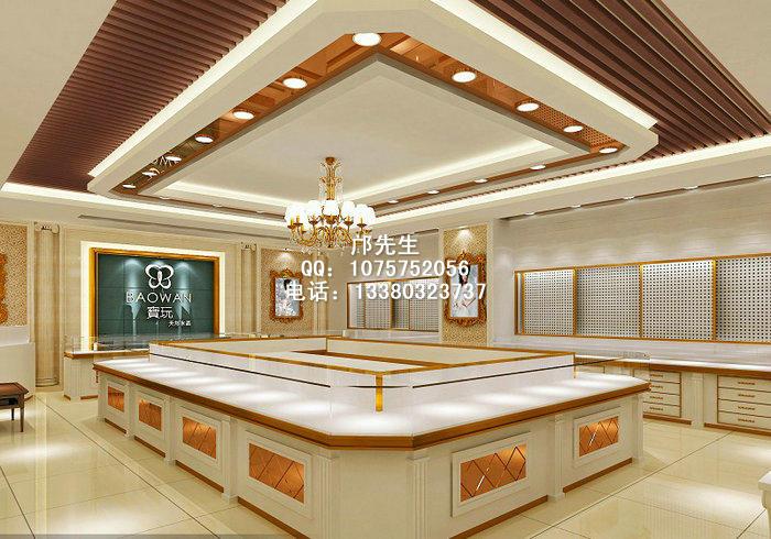 欧式风格珠宝展示柜,不锈钢珠宝展示柜图片,展柜制作厂
