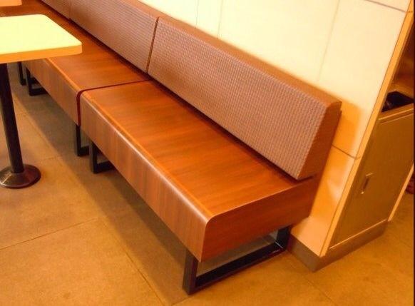 供应真功夫中式快餐店餐桌椅 真功夫复古装修餐桌椅风格图片