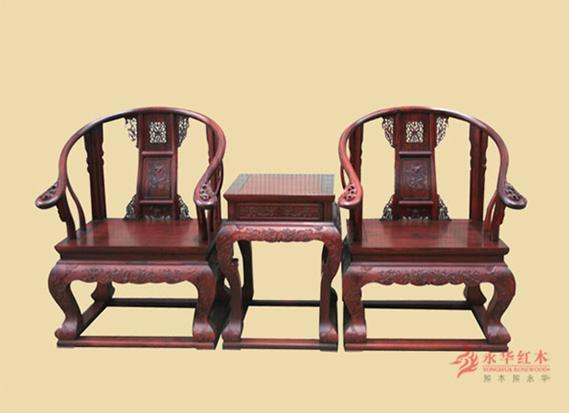 永华红木家具——圈椅