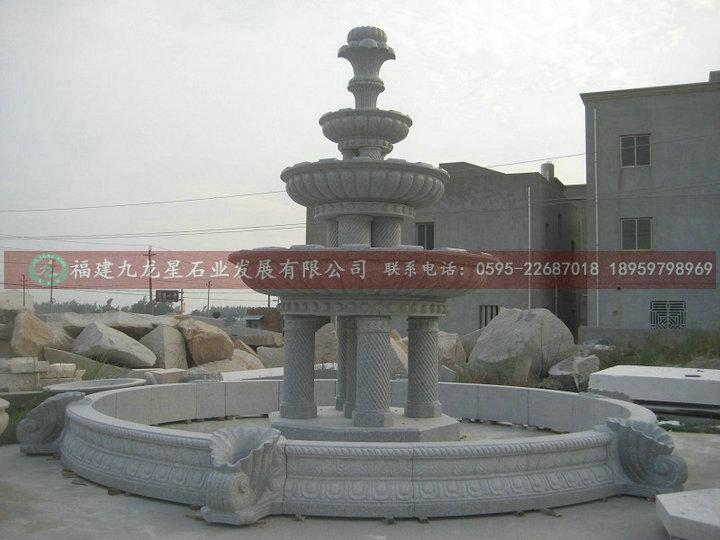 欧式喷泉 石雕喷泉 喷泉水景雕刻 室外水景雕塑