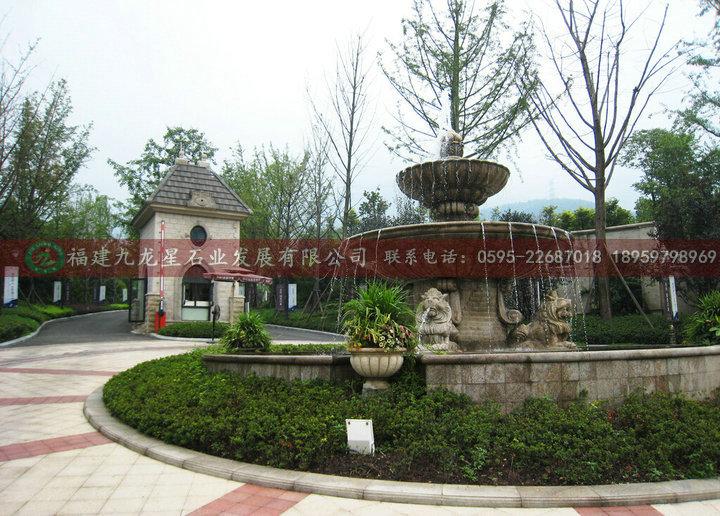 欧式喷泉 石雕喷泉 喷泉水景雕刻