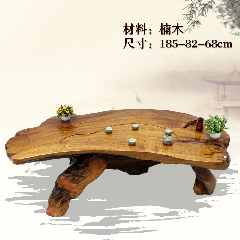 围绕树根做一个桌子