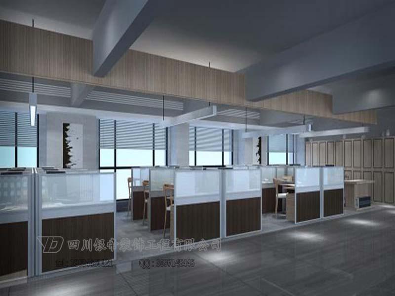 成都办公室装修-运通物流公司办公室设计