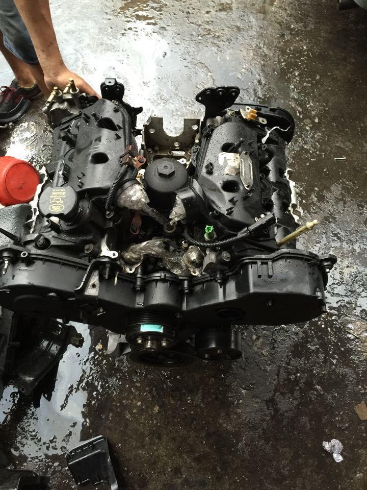 路虎揽胜运动版3.0t柴油发动机涡轮