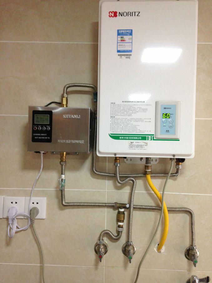 生活家用热水循环系统用法 预热循环泵 回水器循环泵图片