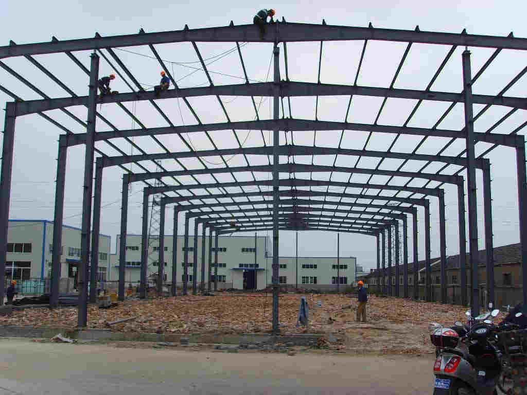 钢结构的主要连接方式_上海睿玲建筑钢结构工程有限