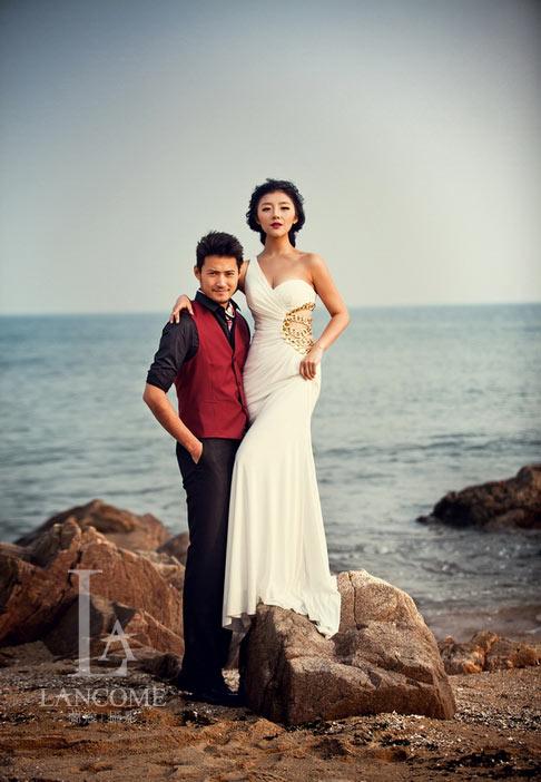 武汉哪里能拍海景婚纱照