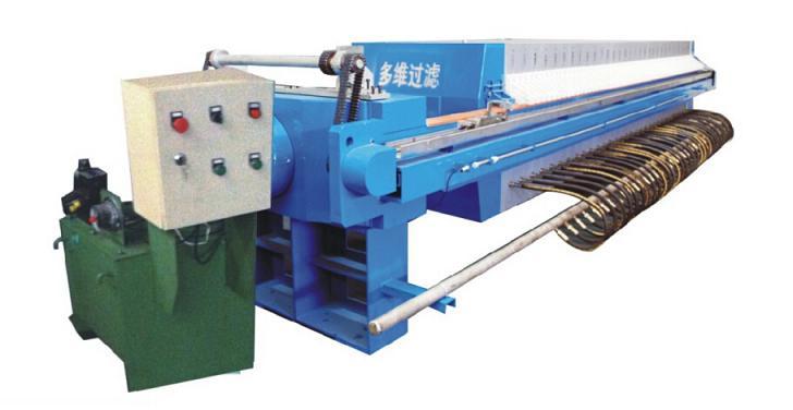 四川多维1000型自动拉板隔膜式压滤机
