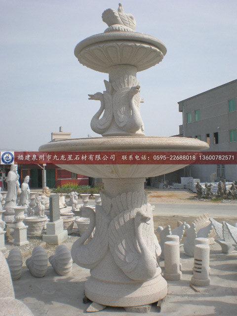 厂家供应精美欧式户外喷水池石雕
