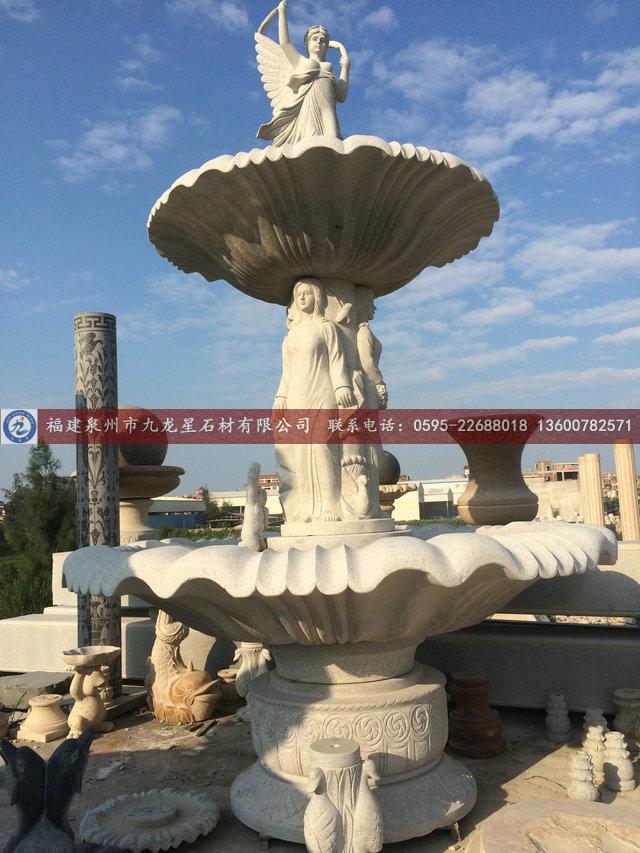 房地产欧式雕塑喷泉广告