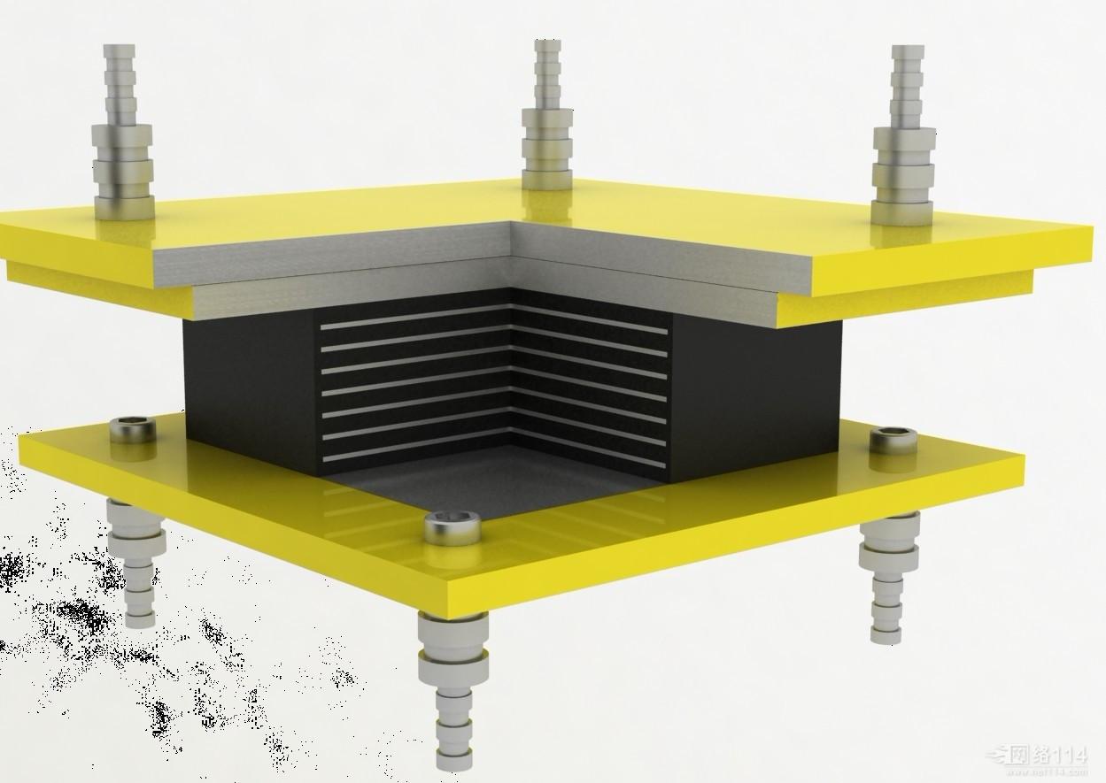 封闭式球形钢支座设计参数1、支座垂直支反力从1500-100000KN,分30级。也可根据用户要求进行特殊规格的设计、制造。 2 封闭式球形钢支座可承受的水平力:固定支座和纵向活动支座在非滑移方向的水平支反力不小于垂直支反力的10%3、支座设计转角分0.02和0.05弧度两种。也可根据用户要求,设计其它转角或更大转角的支座。 4 位移量 顺建筑物向:50-100、150、200、250mm。横建筑物向:多向活动支座为400mm 封闭式球形钢支座的工作原理和构造 球型支座的结构,由下座板、球面四氟板