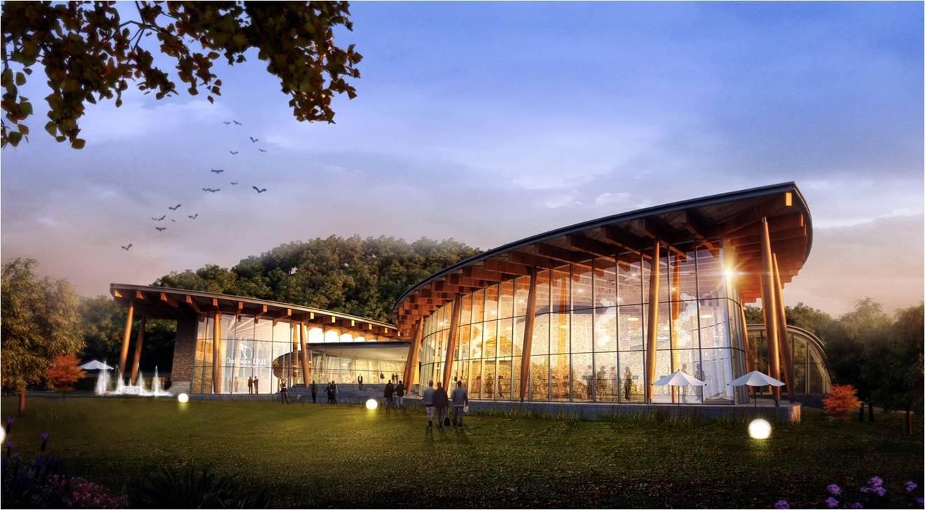 木结构建筑-健康管理展示中心