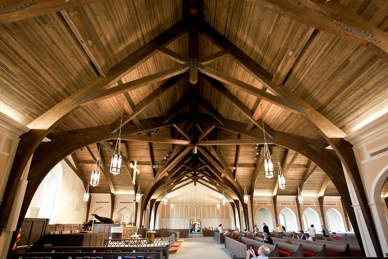 木结构建筑 重木结构教堂