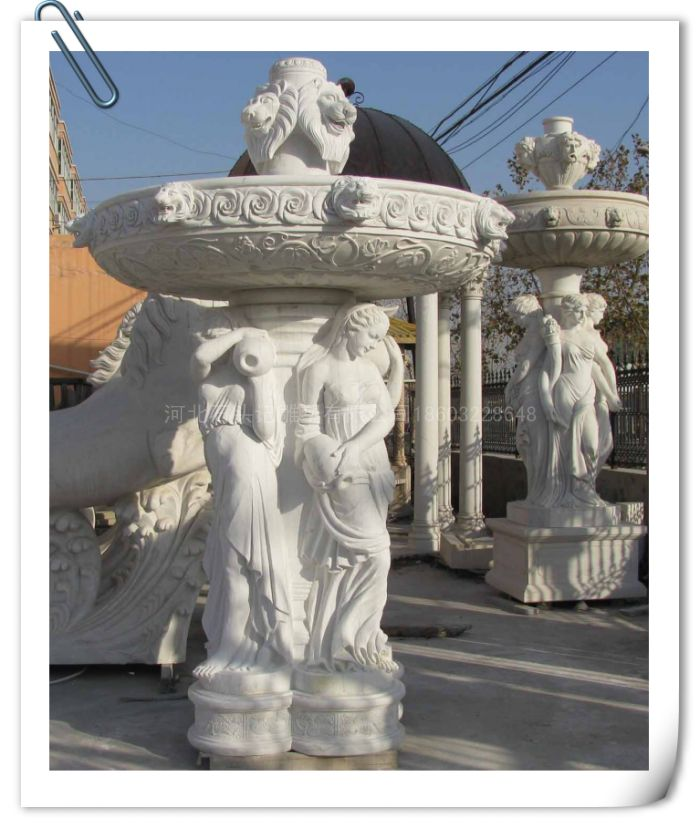 供应石质喷泉雕塑,石雕人物喷泉,欧式喷泉雕塑大全