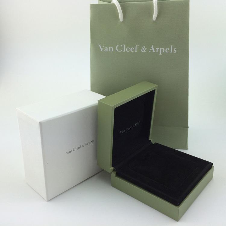 河北保定梵克雅宝首饰包装盒现货批发最低价格
