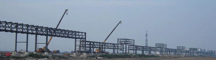 标准工业厂房钢结构 制作加工