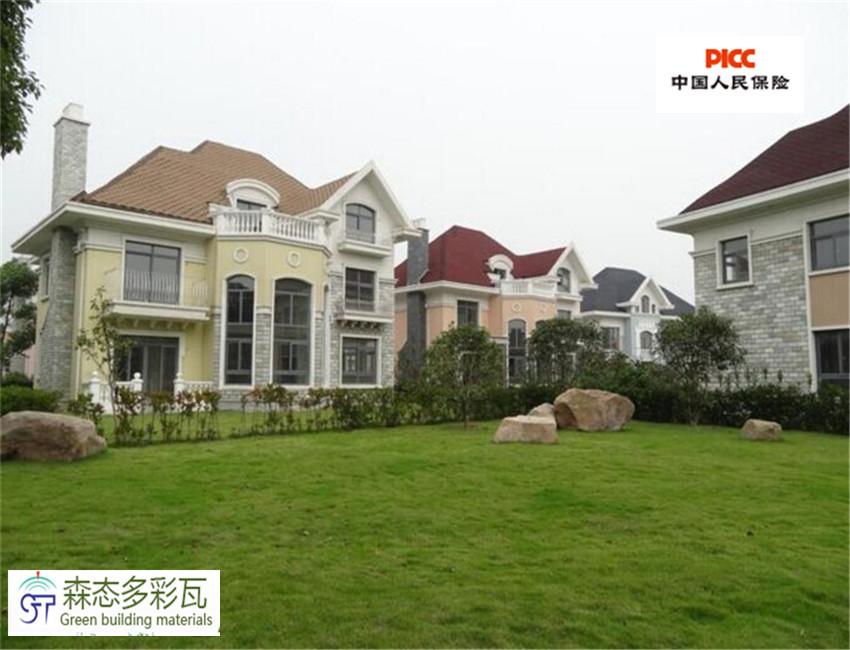 农村别墅屋顶盖瓦设计图纸