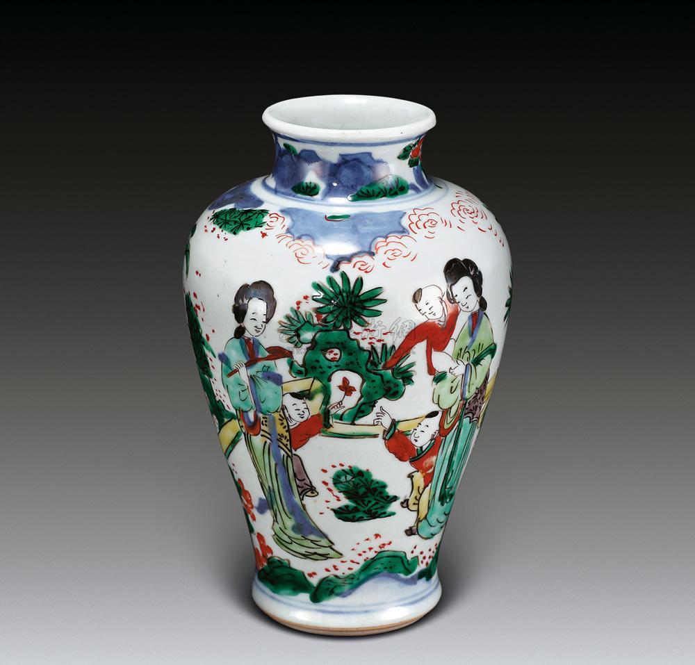 成化斗彩瓷器艺术品上市交易图片