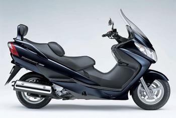 铃木an400踏板车摩托车厂家踏板车摩托车跑车报价