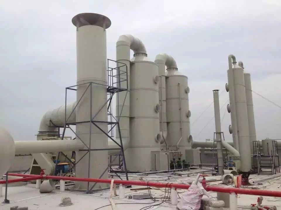 立式废气洗涤塔 废气处理喷淋塔
