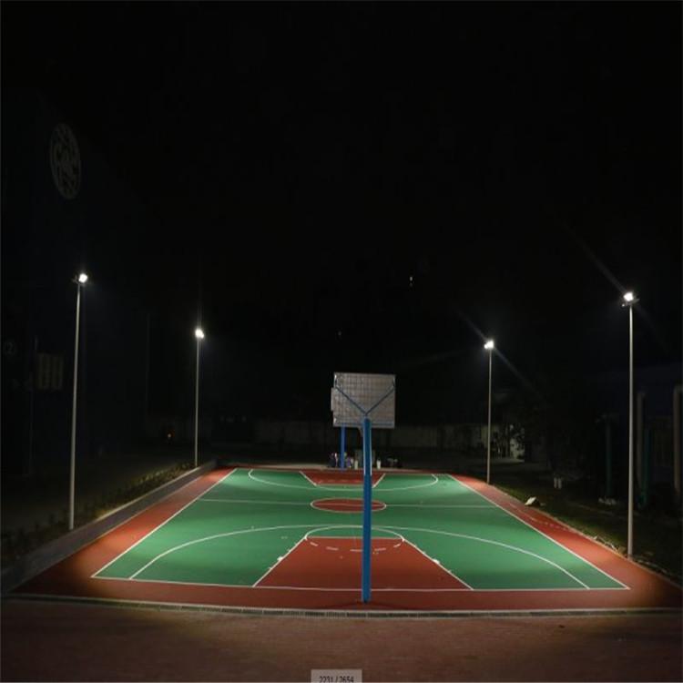 元旦特价篮球场灯杆 深圳南山区灯光设计 学校篮球场灯杆