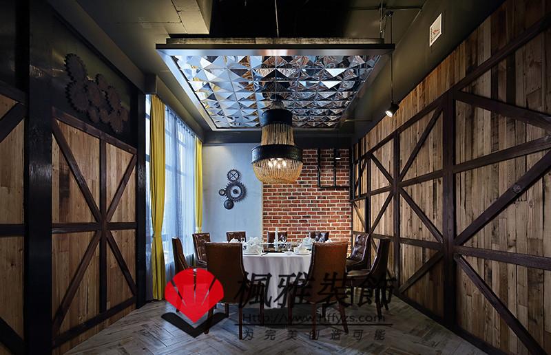 工业风格餐厅装修 loft餐厅装修 合肥餐厅装修风格